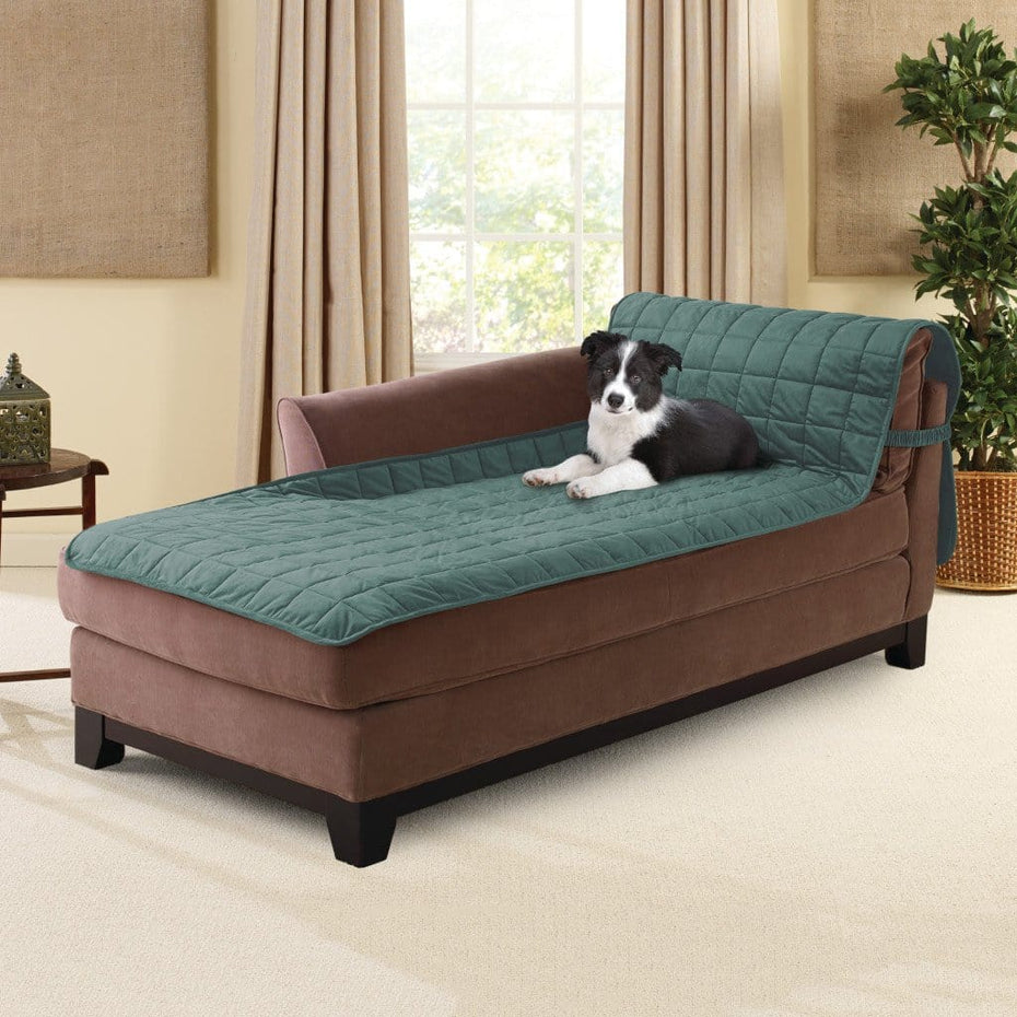 Deluxe Comfort Chaise Lounge Furniture Cover | 100% Polyester | Pet  Furniture Cover | Machine Washable