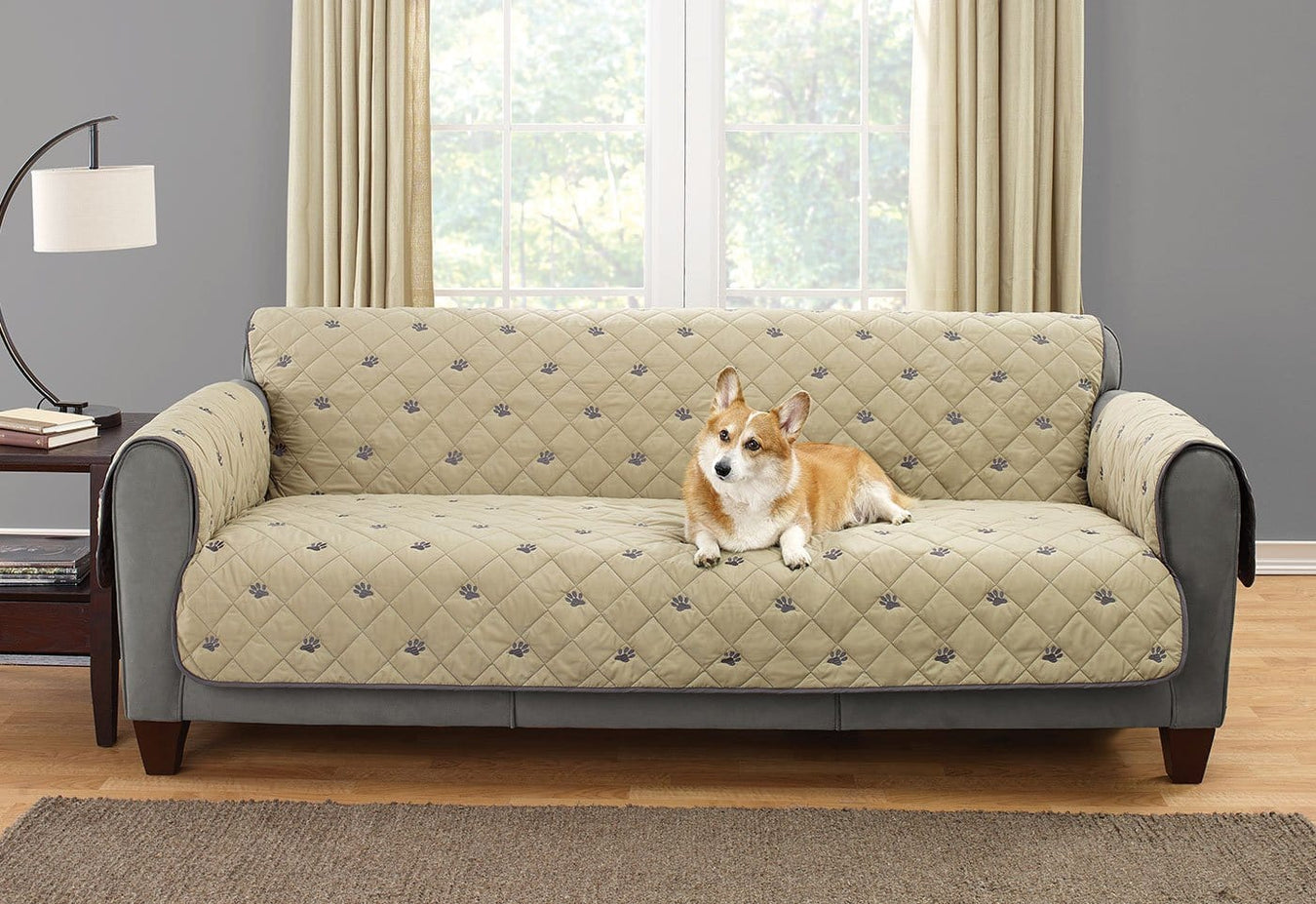 Deluxe Embroideried Sofa Furniture Cover