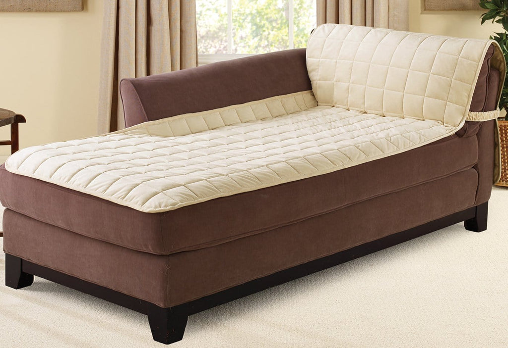 Deluxe Comfort Chaise Lounge Furniture Cover Surefit