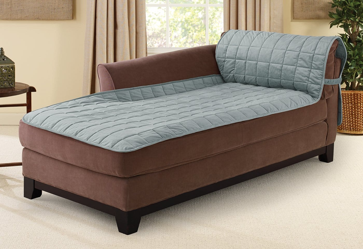 Deluxe Comfort Chaise Lounge Furniture Cover - Chaise Lounge / Mist