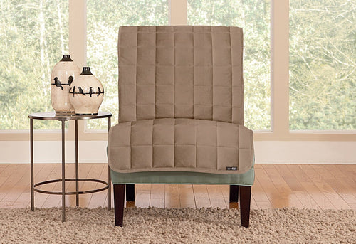 Deluxe Comfort Armless Chair Furniture Cover