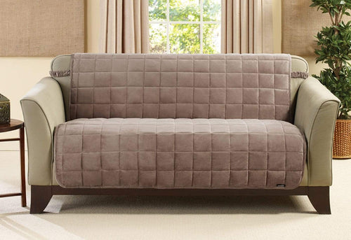 Deluxe Comfort Armless Loveseat Furniture Cover