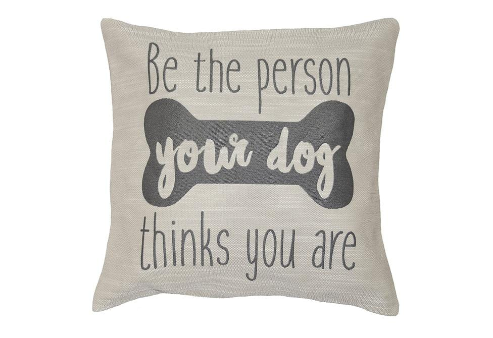 Dog Person 20 Inch Square Decorative Pillow