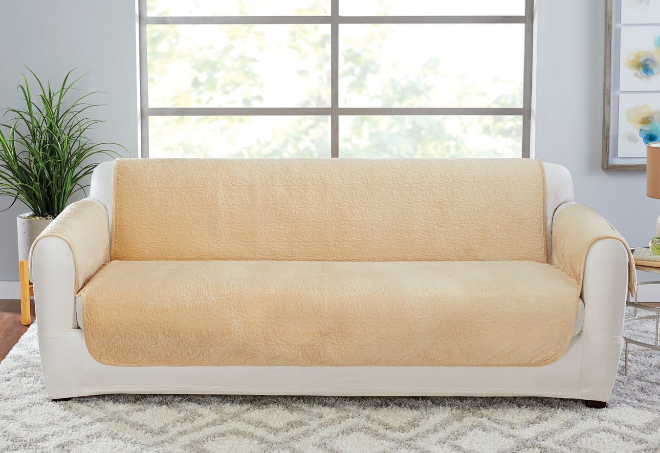 Elegant Vermicelli Sofa Furniture Cover