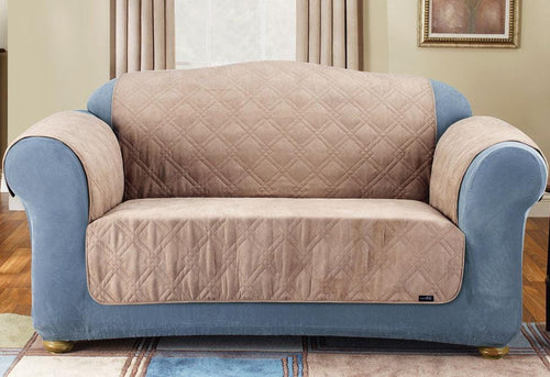 Quilted Loveseat Furniture Cover