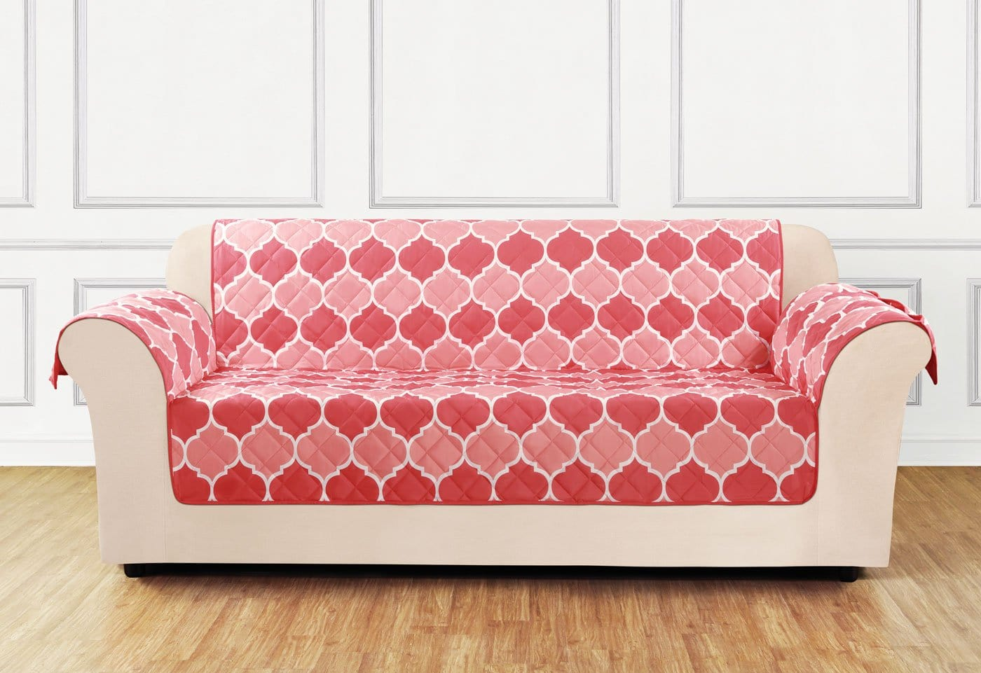 Furniture Flair Sofa Furniture Cover 100% Polyester Pet Furniture Cover Machine Washable - Sofa / Coral