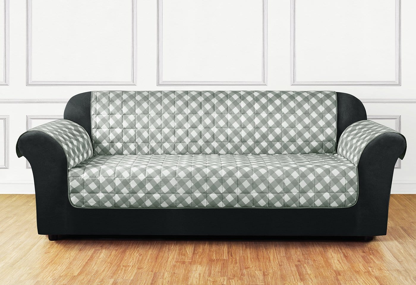 Furniture Flair Sofa Furniture Cover 100% Polyester Pet Furniture Cover Machine Washable - Sofa / Gray
