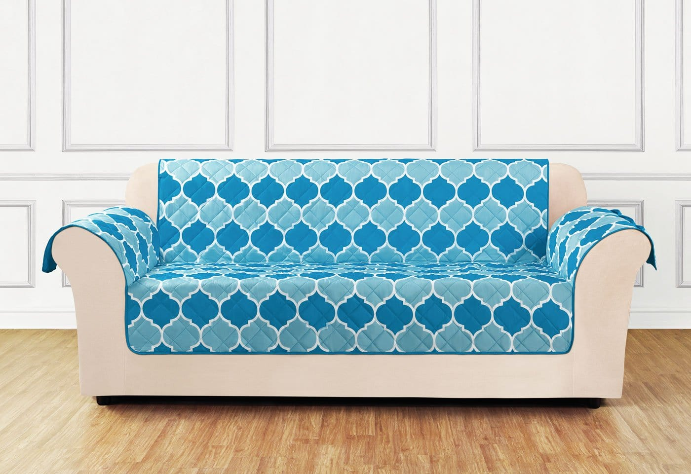Furniture Flair Sofa Furniture Cover 100% Polyester Pet Furniture Cover Machine Washable - Sofa / Turquoise