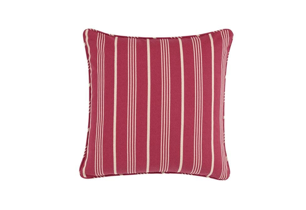 Grain Sack Stripe 18 Inch Square Pillow Cover