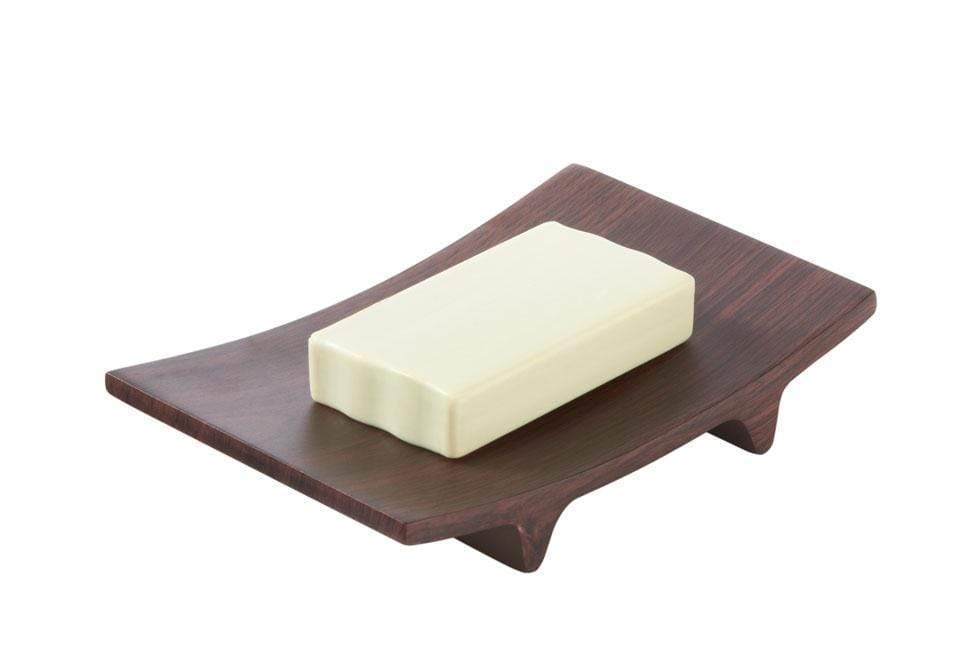 Hamilton Collection Rectangular Soap Dish - Wood Grain