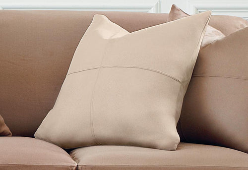 Ultimate Heavyweight Stretch Suede 20 Inch Square Coordinating Pillow