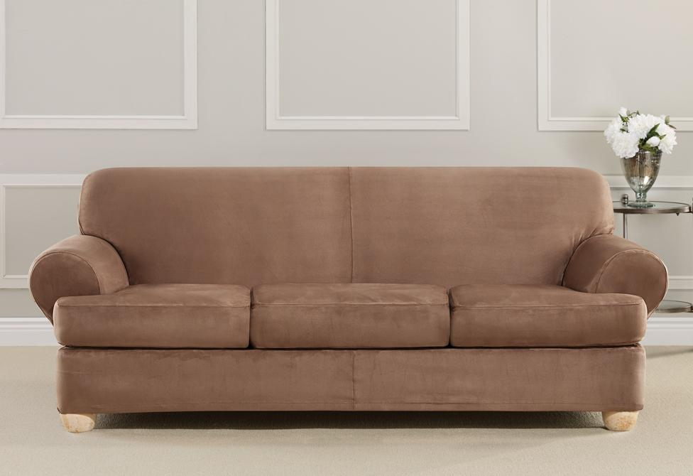 Ultimate Heavyweight Stretch Suede Separate Seat Sofa