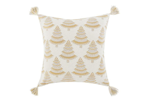Holiday Trees 26 Inch Square Decorative Pillow