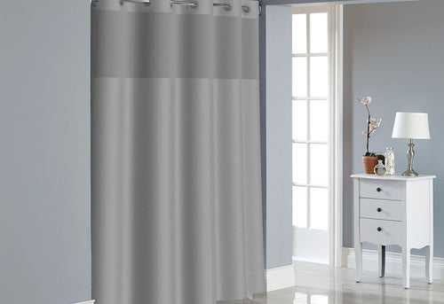Hookless Dobby Texture Shower Curtain