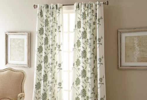 Jaylynn Window Curtain Panel Spa