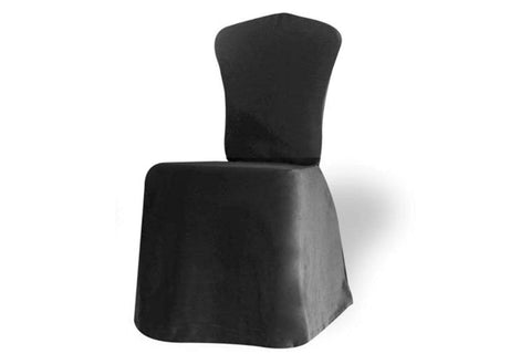 Jersey Knit Scallop Back Dining Chair
