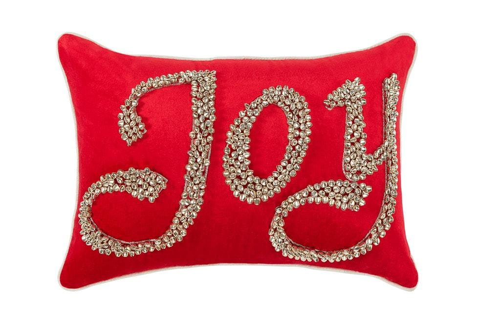 Joy Jingles 12 Inch X 20 Inch Decorative Pillow