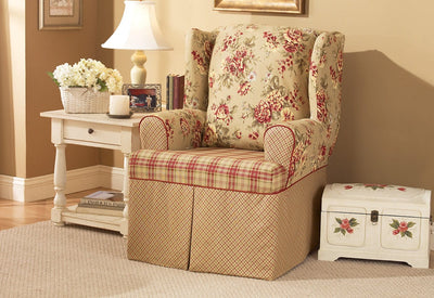Sensational Slipcovers For Wingback Chairs Wing Chair Covers Gmtry Best Dining Table And Chair Ideas Images Gmtryco
