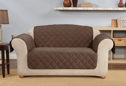 Comfort Cover With Memory Foam Loveseat Furniture Cover
