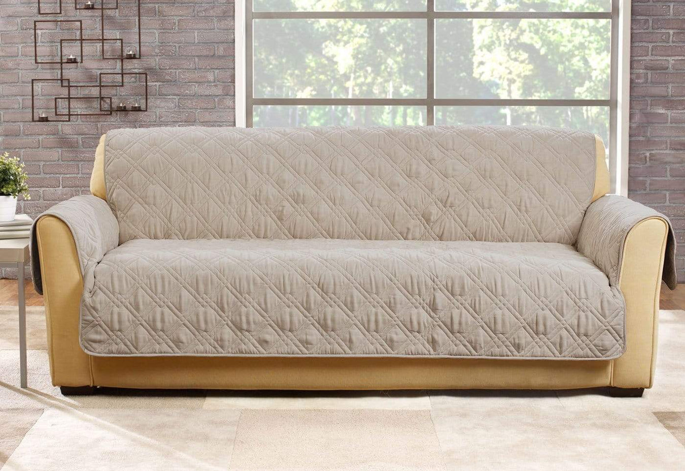 Microfiber Pet Sofa Quilted Furniture Cover