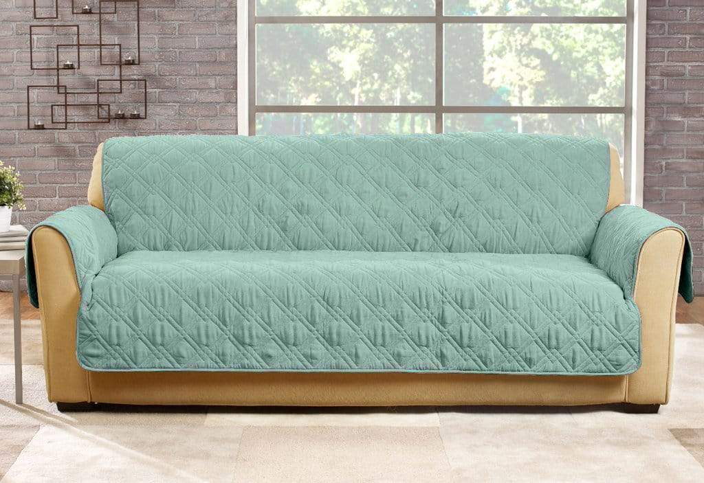 Microfiber Pet Sofa Quilted Furniture Cover | Pet Furniture Cover | Machine Washable