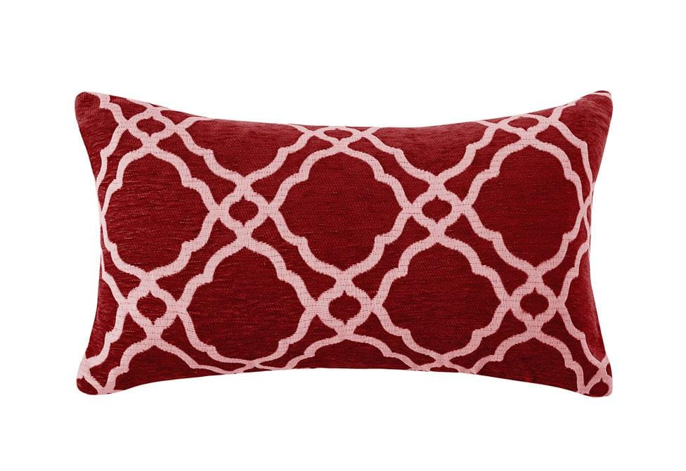Midtown Chenille 14 Inch X 24 Inch Decorative Pillow 2pk