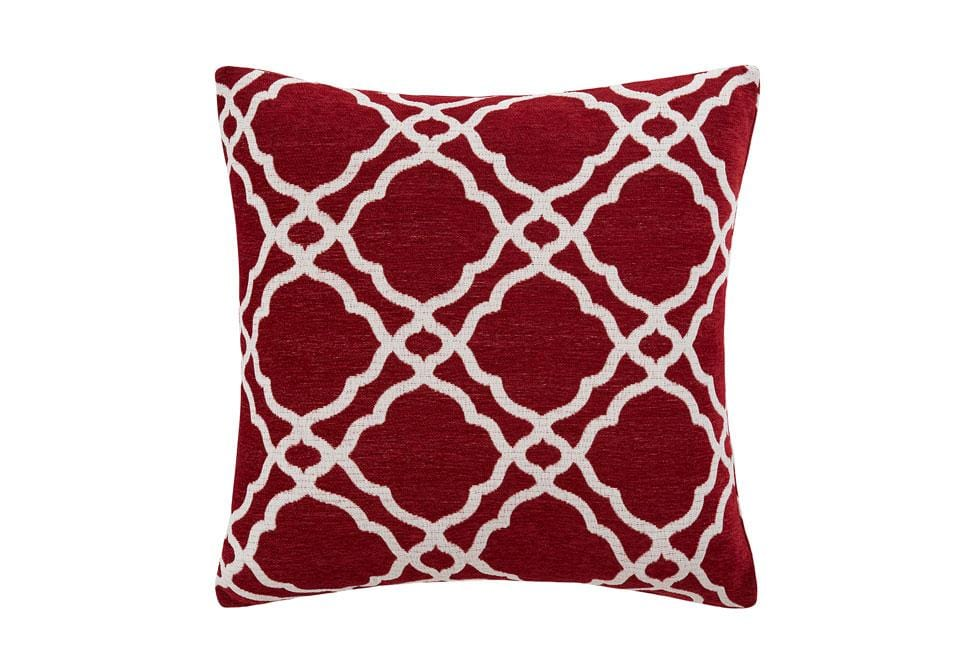 Midtown Chenille 20 Inch Square Decorative Pillow