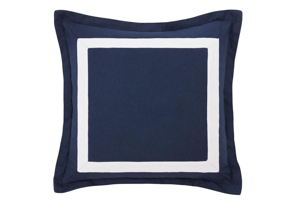 Mira 20 Inch Square Decorative Pillow - 20 x 20 / Navy