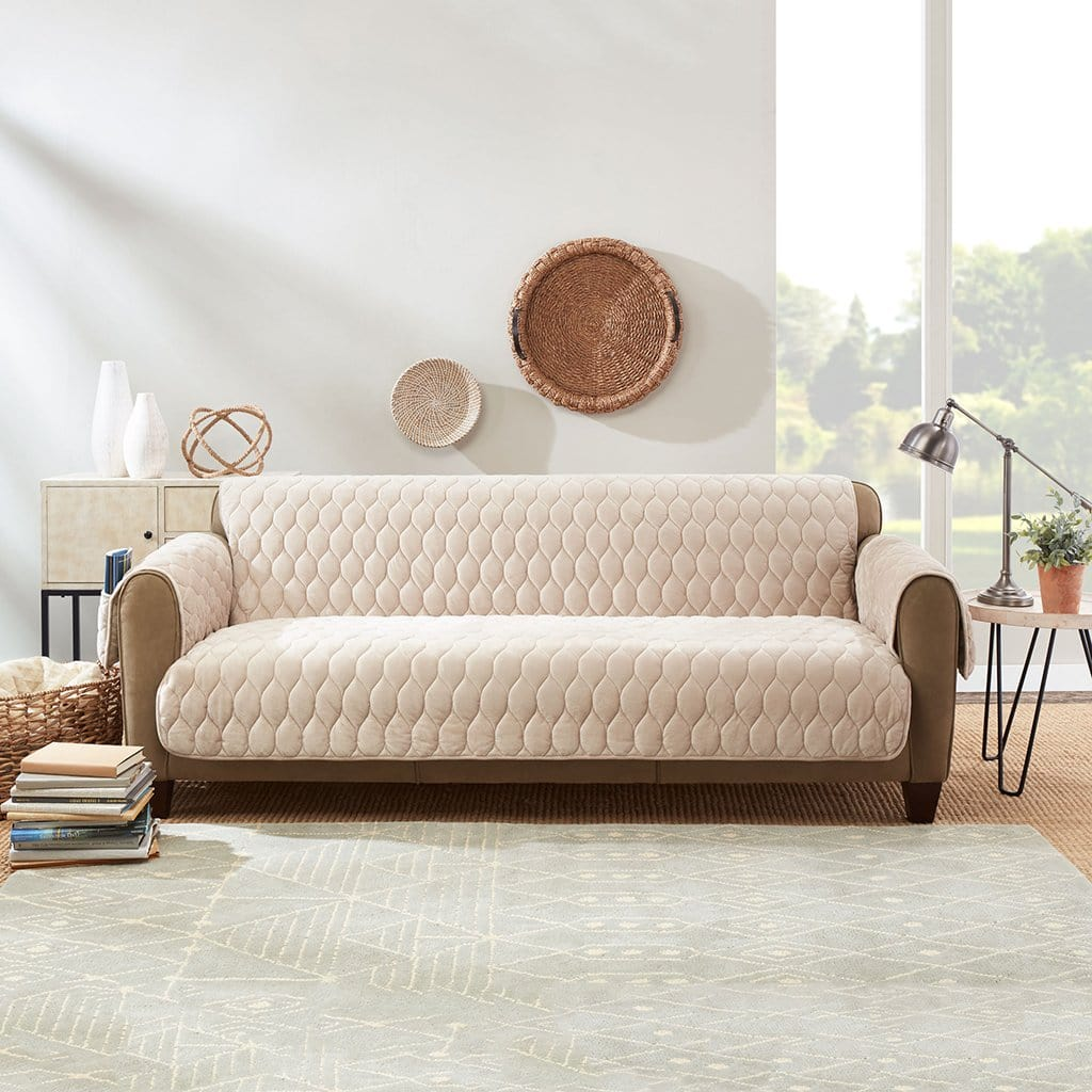 Miracle Mink Sofa Furniture Cover Waterproof Pockets