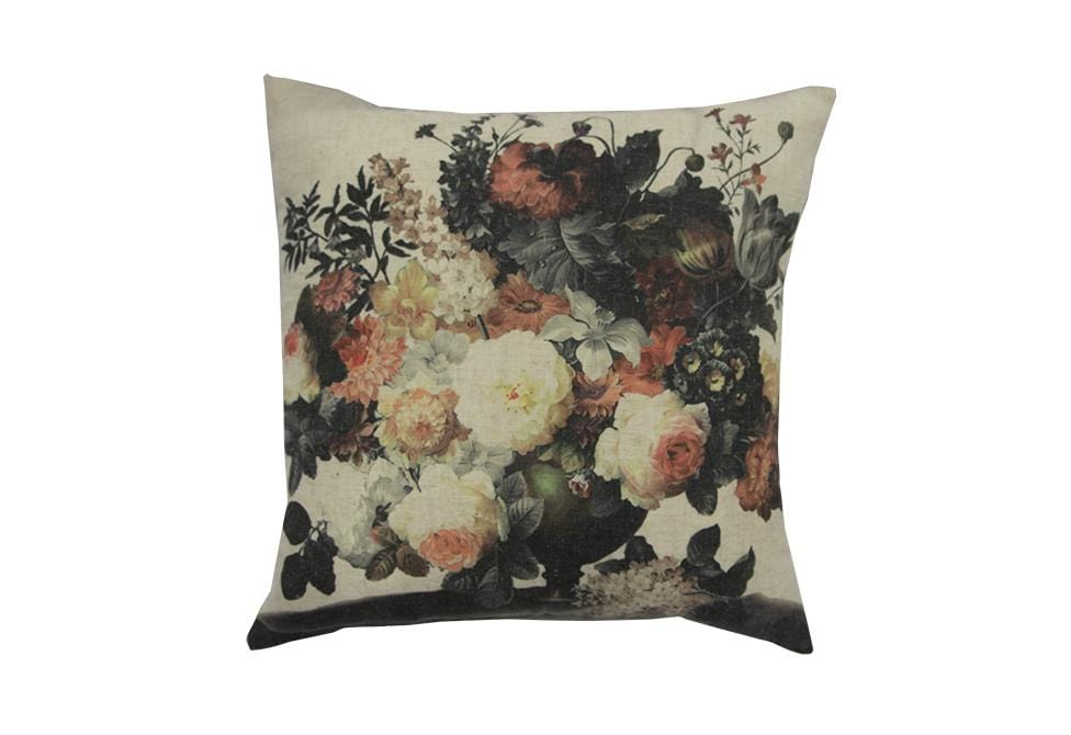 Mood Multi Floral   20 inch square Decorative Pillow