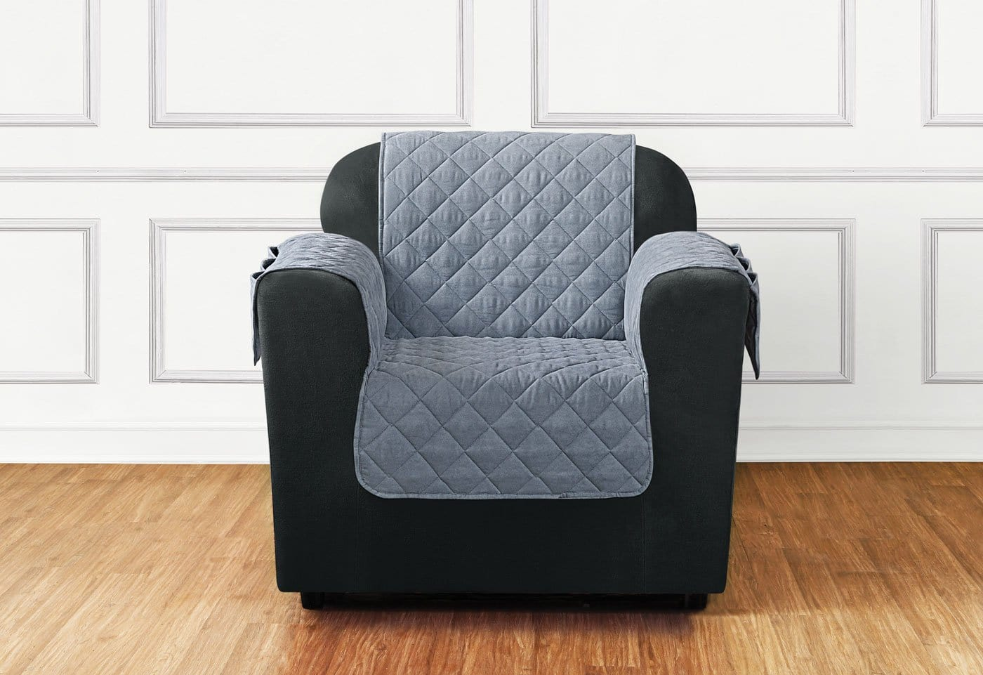 Breathable Mesh Chair Furniture Cover One Piece Pet Furniture Cover Polyester Machine Washable - Chair / Mist