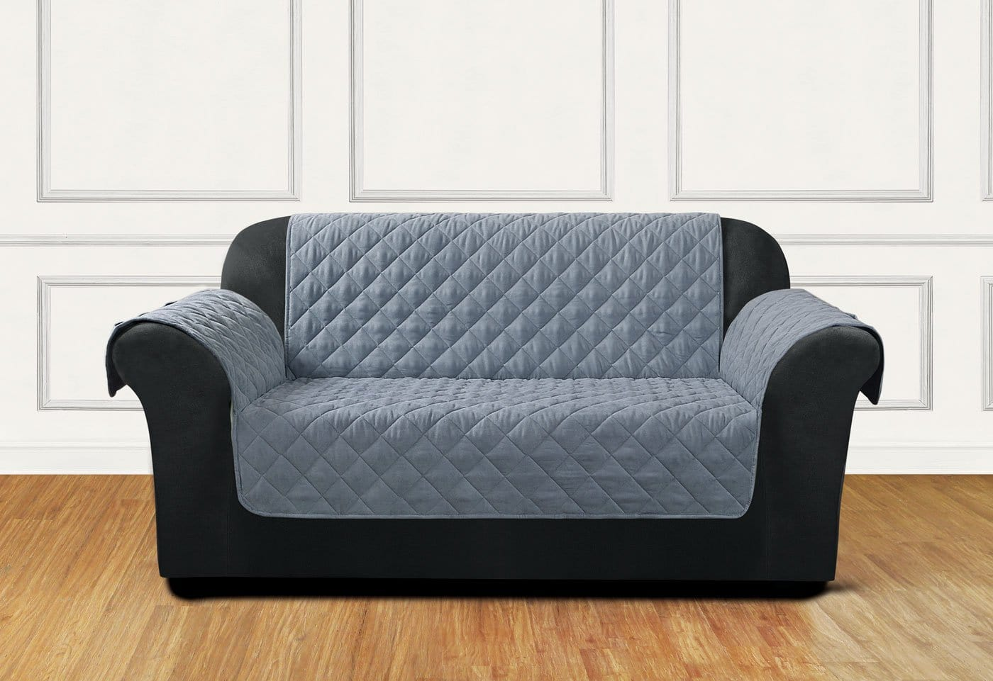 Breathable Mesh Loveseat Furniture Cover One Piece Pet Furniture Cover Polyester Machine Washable - Loveseat / Mist