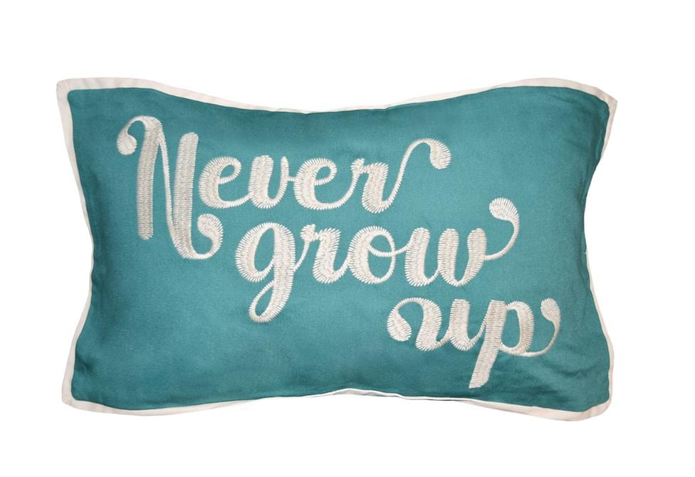 Grow Up 14 Inch X 24 Inch Decorative Pillow