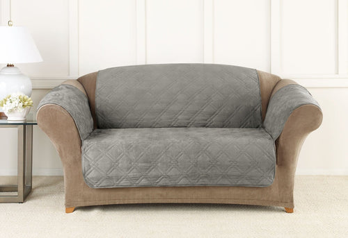 Dupont Cooling Quilted Loveseat Furniture Cover