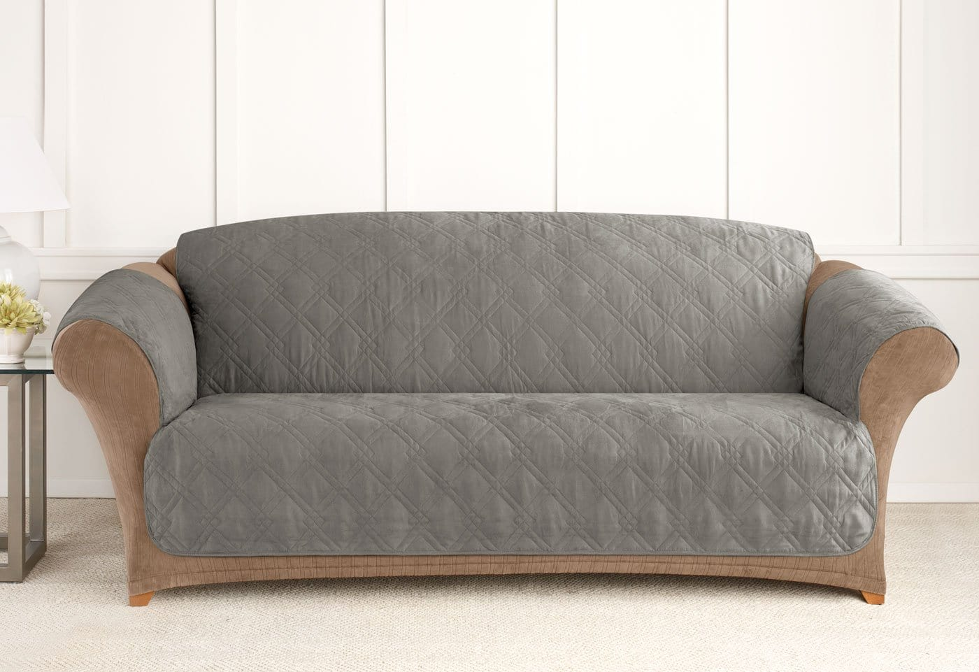 gray sofa cover – Home and Textiles