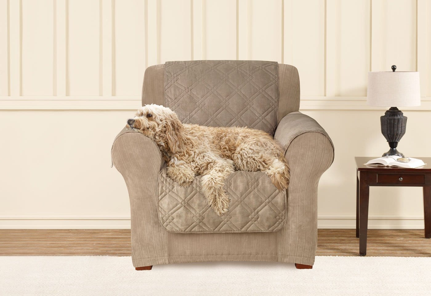 Dupont Cooling Quilted Chair Furniture Cover | SureFit