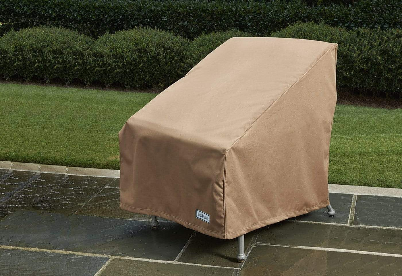 Patio Armor Chair Cover - Chair / Taupe