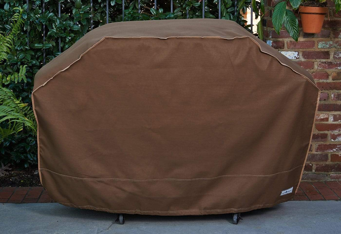 Patio Armor Reversible Grill Cover - 60 Inch / Chocolate