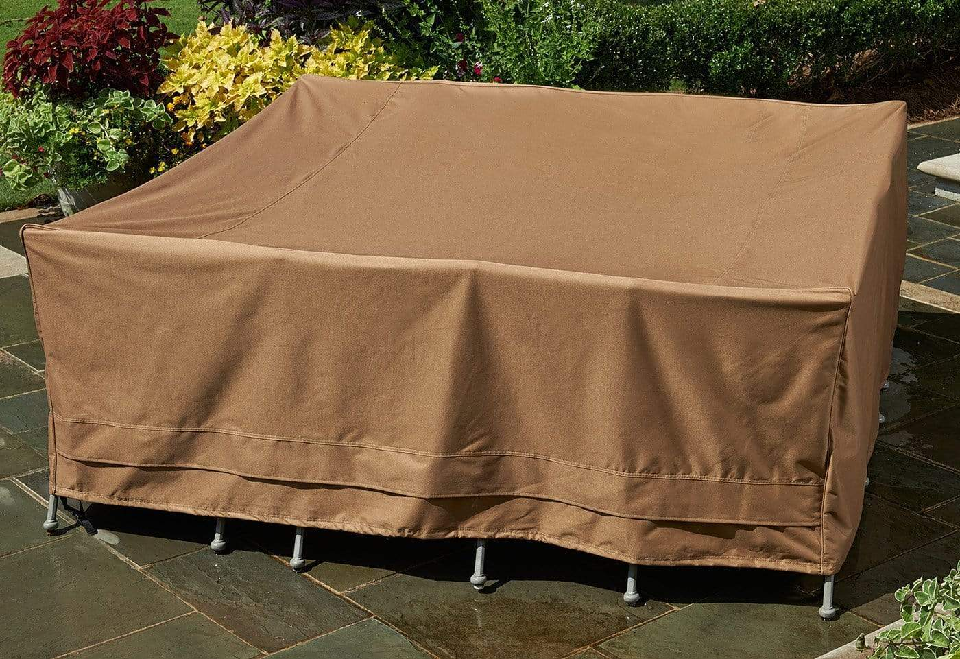 Patio Armor Table Cover - Square / Taupe