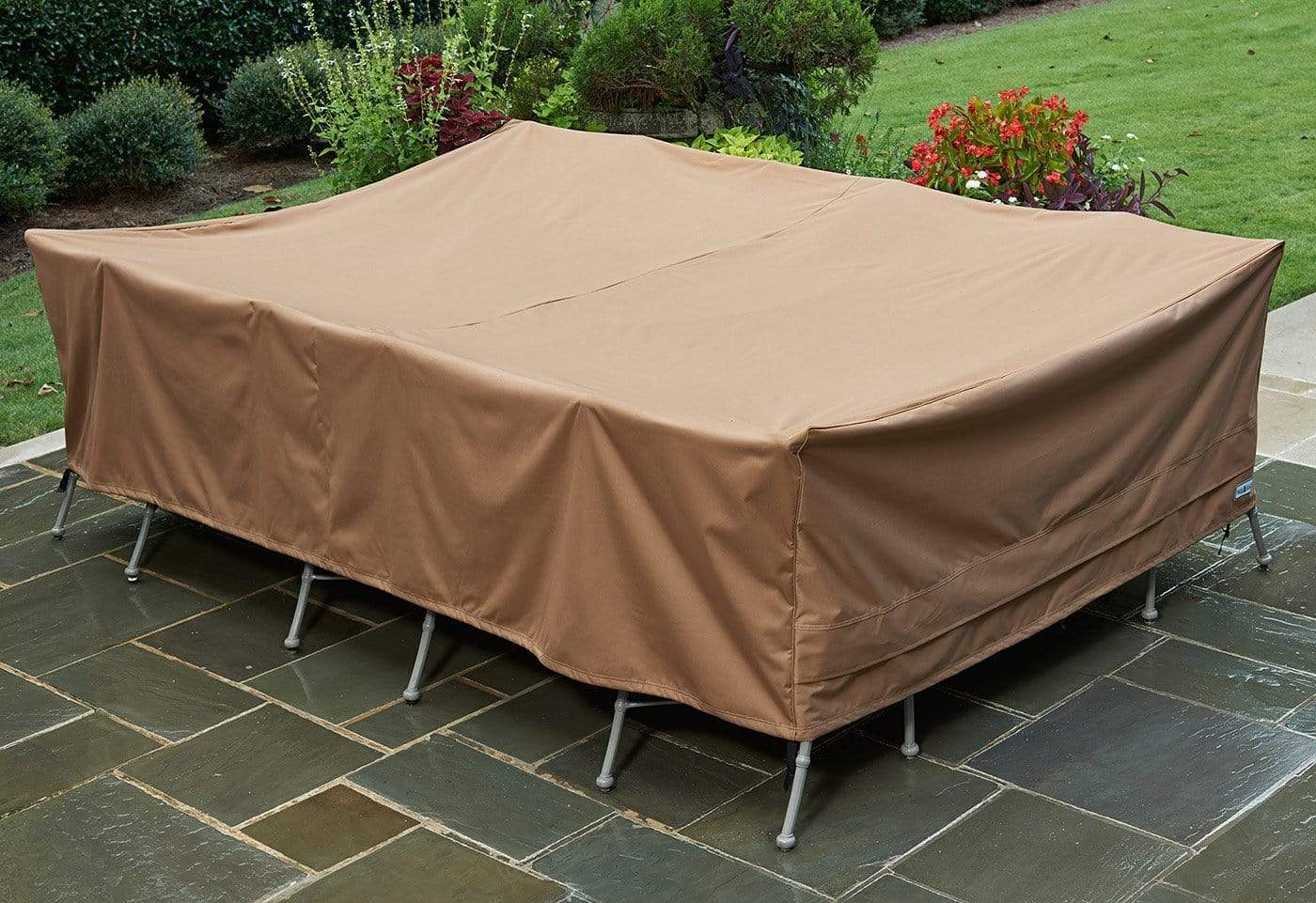 Patio Armor Extra-Large Table Cover - Rectangle / Taupe