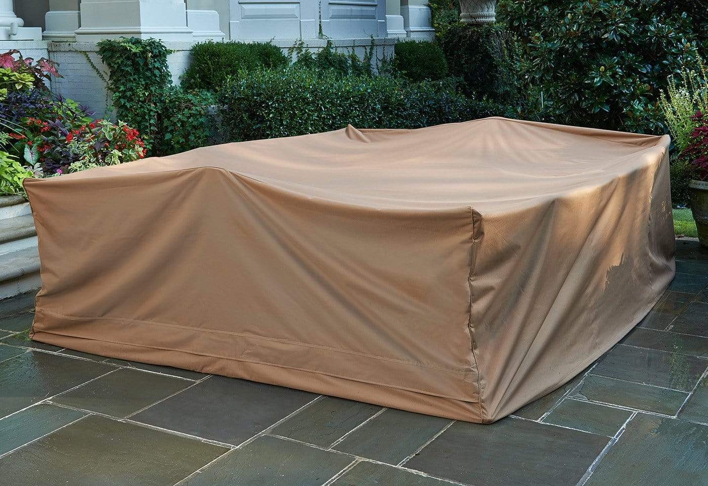 Patio Armor Extra-Large Mega Table Cover - Taupe