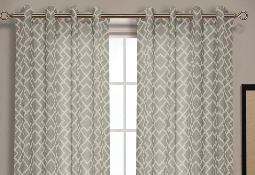 Patras Semi Sheer Window Curtains