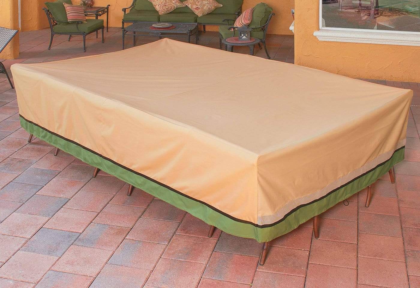 Signature Series Table Cover - Rectangle / Taupe