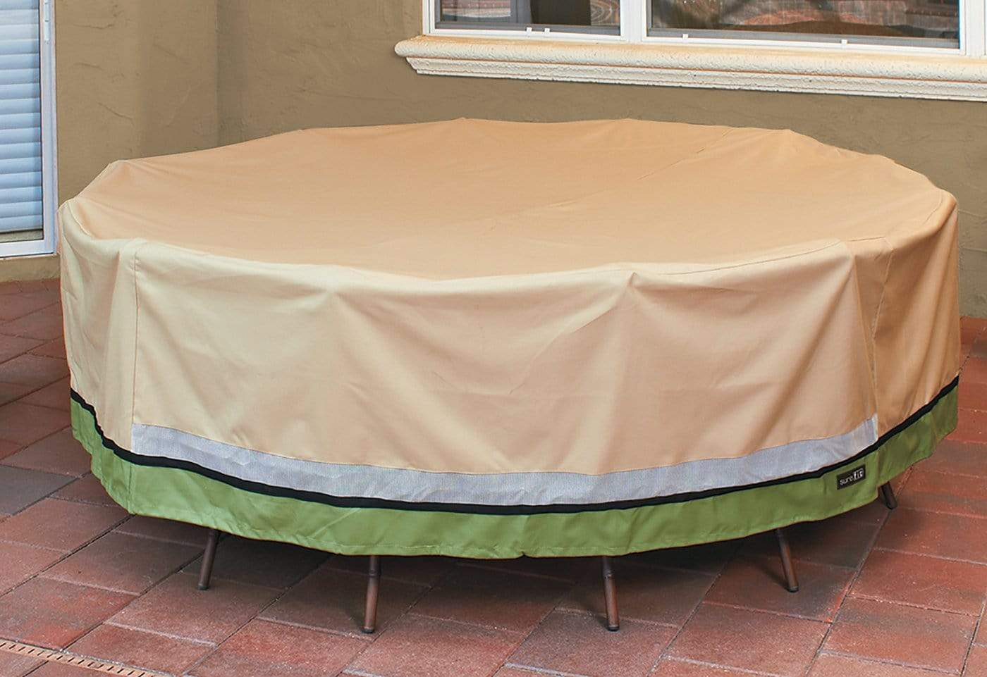 Signature Series Table Cover - Round / Taupe