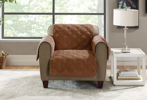 Plush Comfort Chair Furniture Cover
