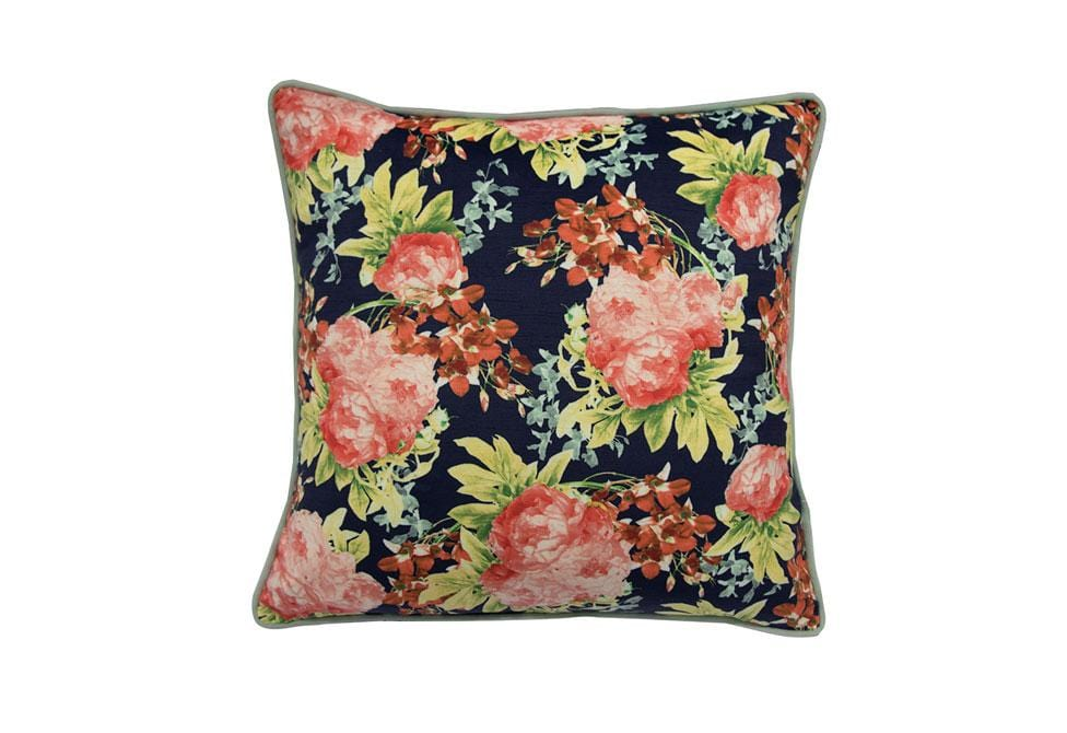 Pop of Floral   20 inch square Decorative Pillow