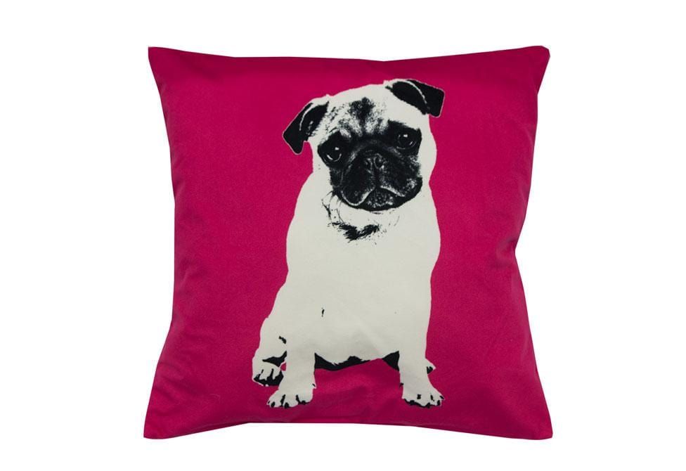 Pugg Life   18 inch square Decorative Pillow