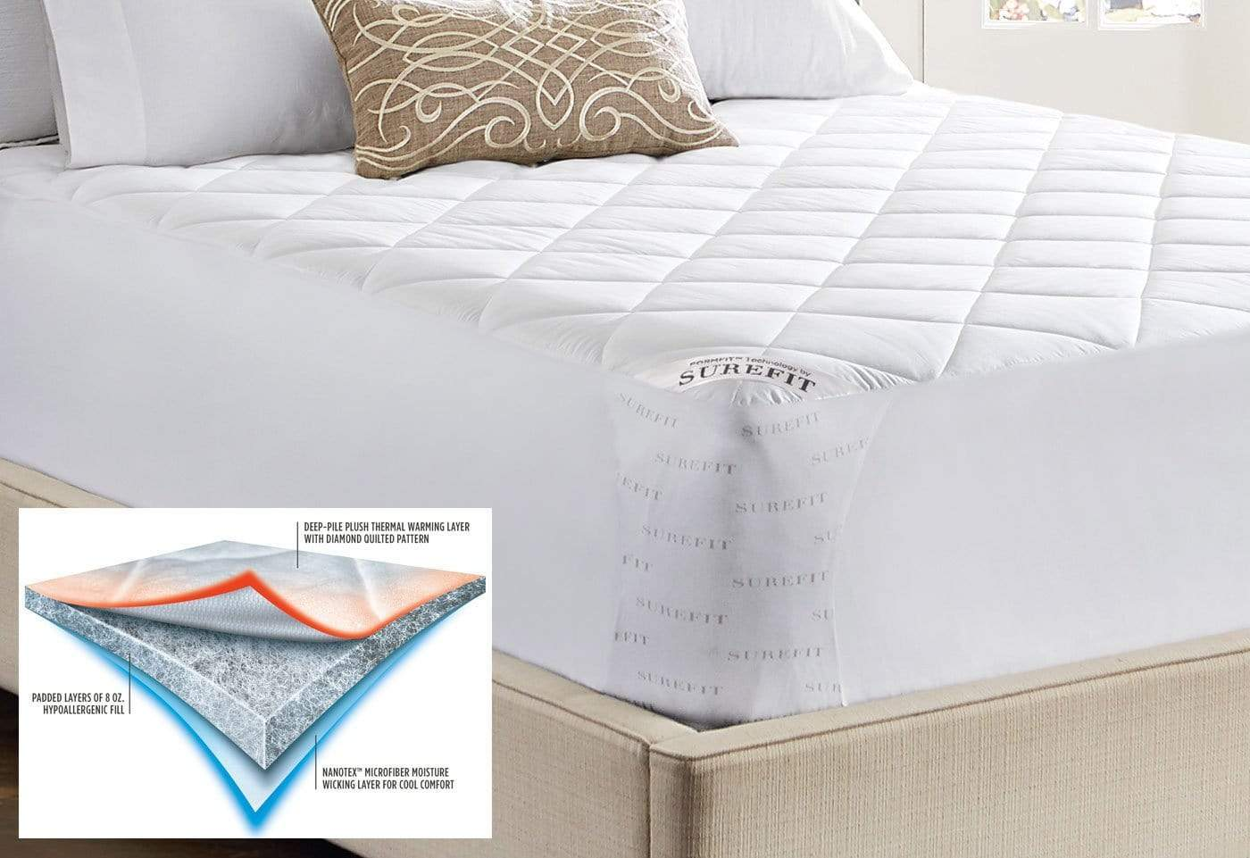 Duo Comfort Mattress Pad - Full