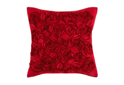 Rosey 20 Inch Square Decorative Pillow