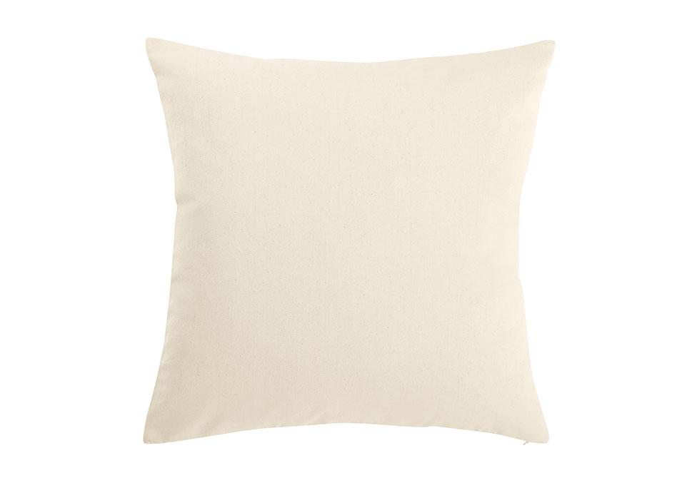 Heavyweight Cotton Duck 18 Inch Square Pillow Cover